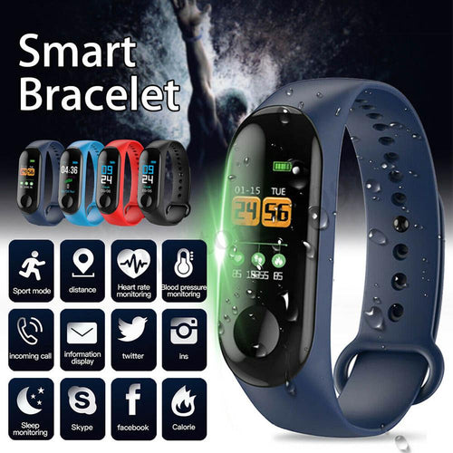 2019 Newly Hot Sales Fashion Hot Smart Braclet 0.96in TFT Screen Heart Rate Sports Waterproof Sleep Monitoring Watch MSK66