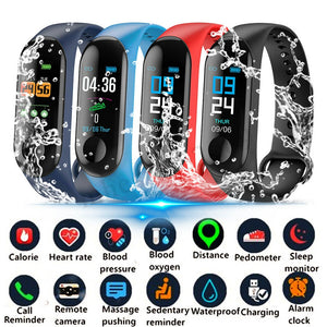 Smart Braclet 0.96in TFT Screen Heart Rate Sports Waterproof Sleep Monitoring Watch HSJ88