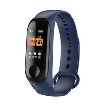 Load image into Gallery viewer, FXM Intelligent Sports Men Women Bracelet Heart Rate Sleep Monitoring Stepcounter Waterproof Watch Men And Women Bluetooth Link