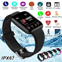 Load image into Gallery viewer, Smart Bracelets Fitness Health Band Pedometer Heart Rate Monitor Wristband Cardio Bracelet Pressure Fit Watch Blood Pressure