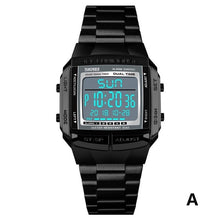 Load image into Gallery viewer, SKMEI Waterproof Mens Watches Top Brand Luxury Clock Military Sports Watches Electronic LED Digital Watch Men Fashion Clock
