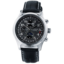 Load image into Gallery viewer, GUANQIN Automatic Mechanical Men Watches Top Brand Luxury Waterproof date Calendar Moon Leather Wristwatch Relogio Masculino A