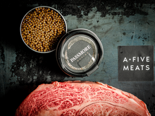 Load image into Gallery viewer, Passmore Ranch Caviar + Olive Fed Ribeye from Sanuki Japan