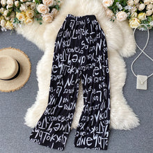 Load image into Gallery viewer, Tie-Dye Straight Tube Loose Casual Pants