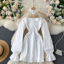 Load image into Gallery viewer, Sweet Hollow Lace Classic Dress