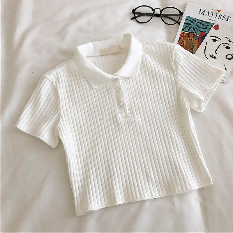 Fashion POLO Neck T-shirt