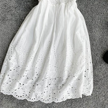 Load image into Gallery viewer, Sweet Hollow Lace V-neck Dress