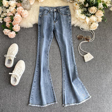 Load image into Gallery viewer, Vintage FashionFrayed Flared Pants