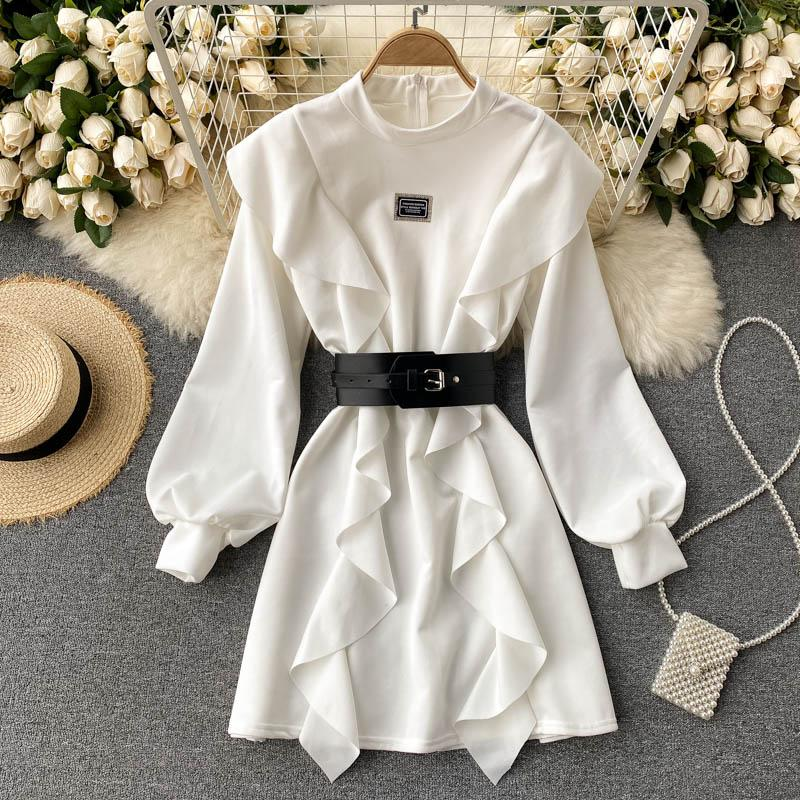 Temperament Puff Sleeve Dress
