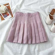 Load image into Gallery viewer, Sweet Off Shoulder Chiffon Shirt + Pleated Skirt