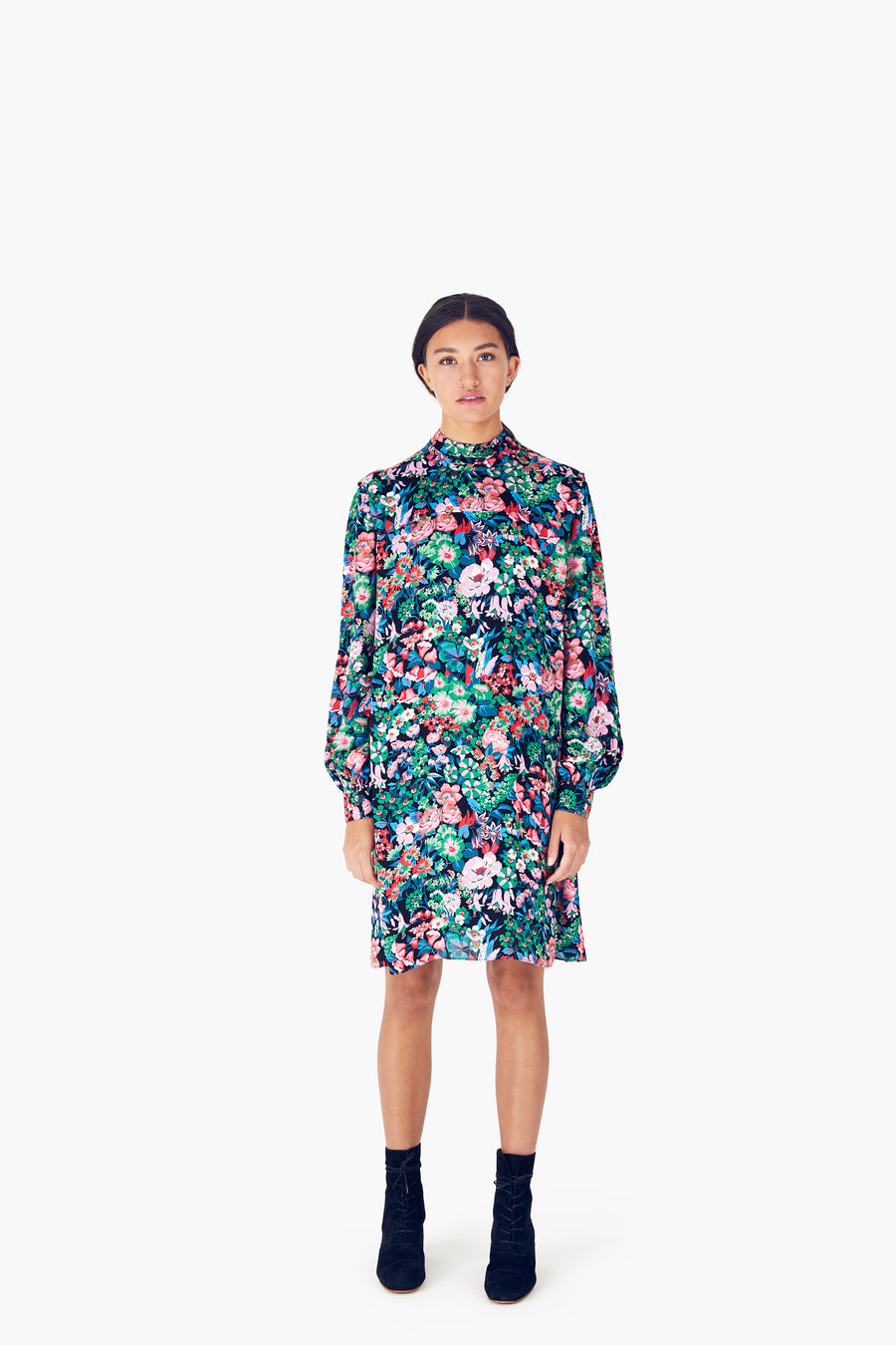 Alice Dress in Nightfall Multi