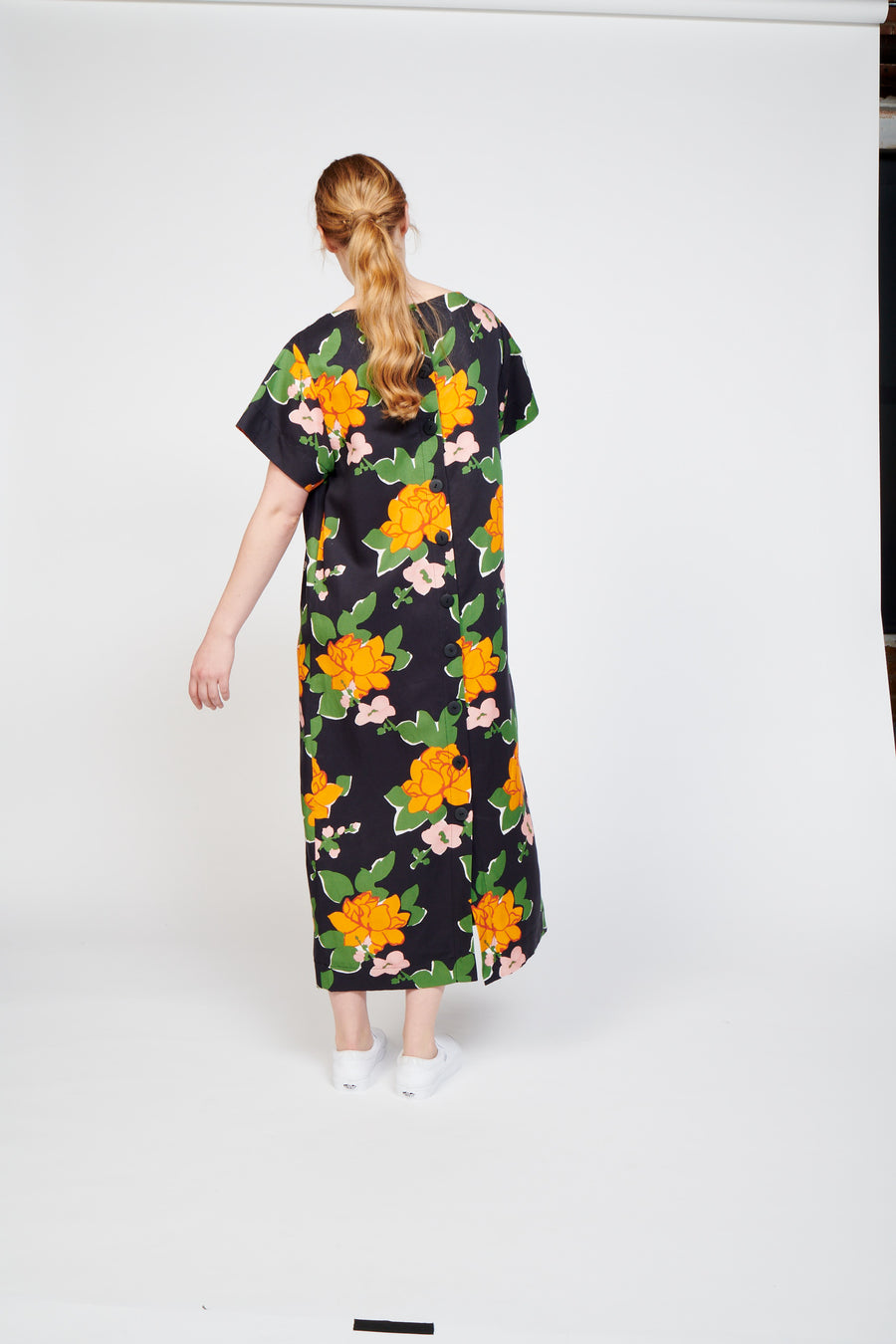 Sonora Dress in Navy Hermosa Floral