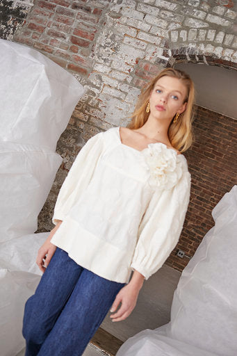 Marcel Top Texture Dot Cream