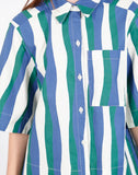 Beau Shirt in Wavy Stripes