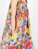 Ann Dress in Laughing Flowers Print