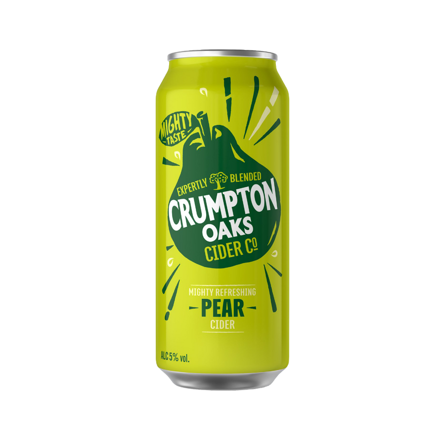 Crumpton Oaks Pear Cider 5% (24 x 500ml cans)