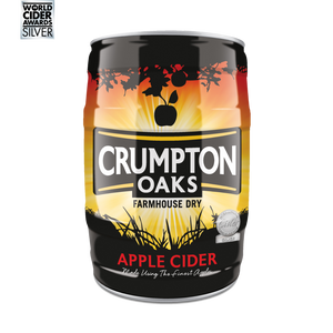 Crumpton Oaks Apple Cider 5% 5L Mini Keg