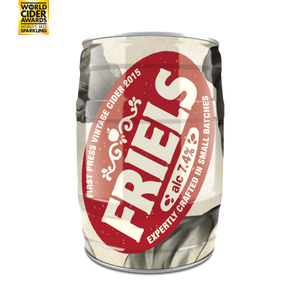 Friels Vintage Apple Cider 7.4% 5L Mini Keg