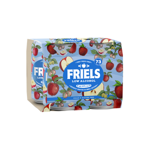 FRIELS APPLE LOW ALCOHOL CIDER 0.5% (24 X 330ML)