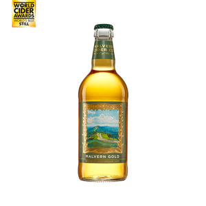 Malvern Gold Cider 6% (8 x 500ml bottles)