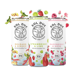 SOL DUC HARD SELTZER (12 X 330ML CANS)