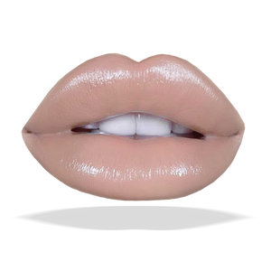 Lip Cream Gloss-Beige Brown