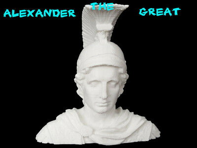 3D Printed Alexander The Great Bust Printed By 3D Cauldron