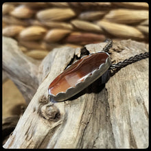 Load image into Gallery viewer, Lake Superior Eye Agate Pendant