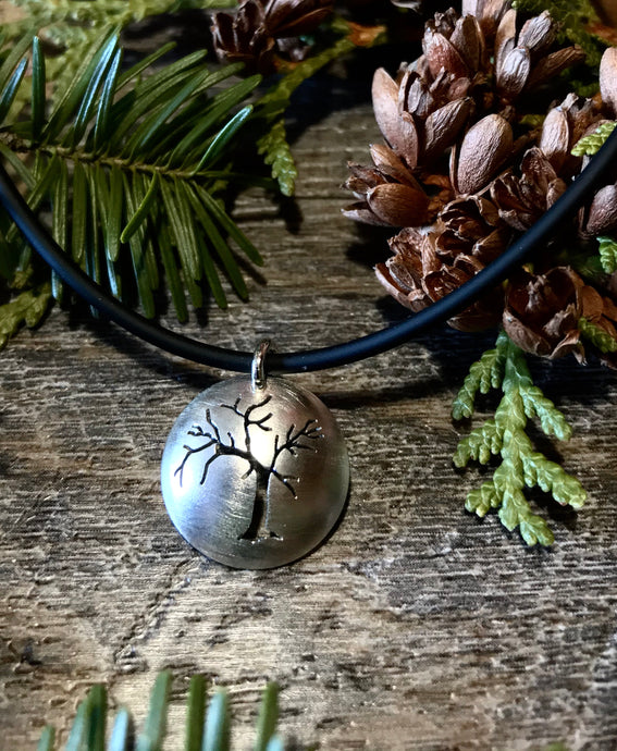 Sterling Silver Family Tree of Life ~ Handmade in Michigan