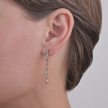 Load and play video in Gallery viewer, Gaia Earrings 2 Turquoise