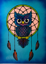 Load image into Gallery viewer, Dream Catcher Owl