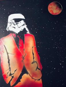 Star Wars Classy Storm Trooper with Moon (Orange)