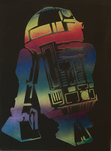 Star Wars R2D2 (rainbow)