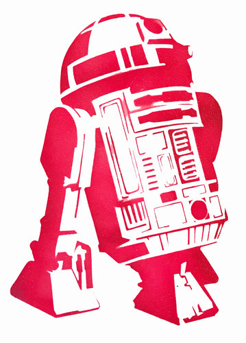 Star Wars R2D2 (hot pink)