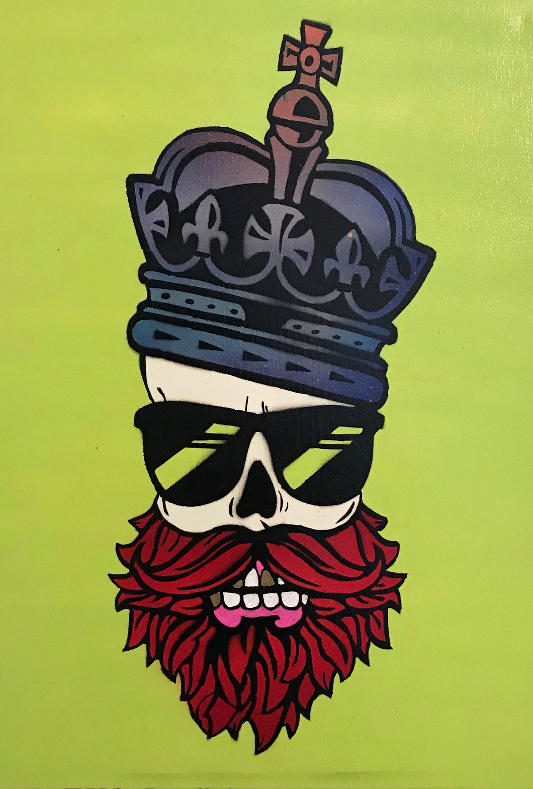 Bearded Skull King