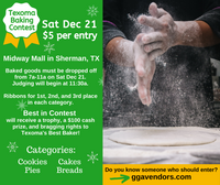 **Texoma Baking Contest**