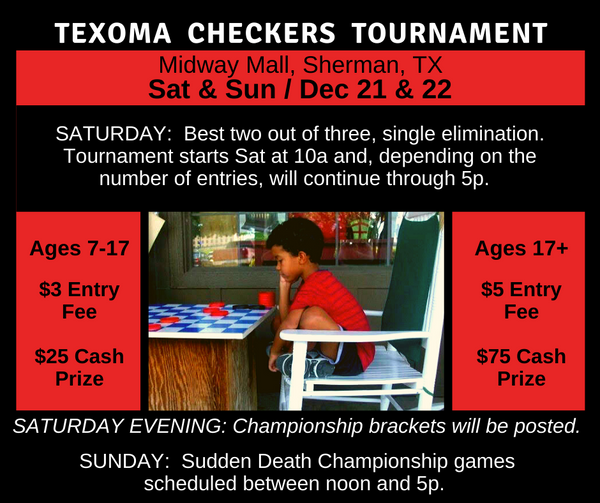 **Texoma Checkers Tournament**