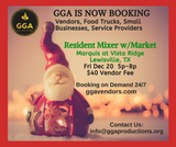 12-20-2019 (Fri) Resident Mixer with Market @Marquis at Vista Ridge, Lewisville, TX