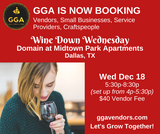 12-18-2019 (Wed) Wine Down Wednesday @Domain at Midtown Apartments, Dallas, TX