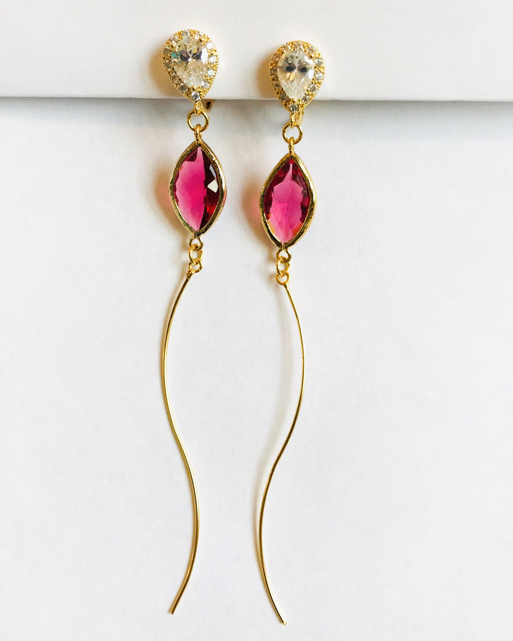 Mimi Ruby Earrings