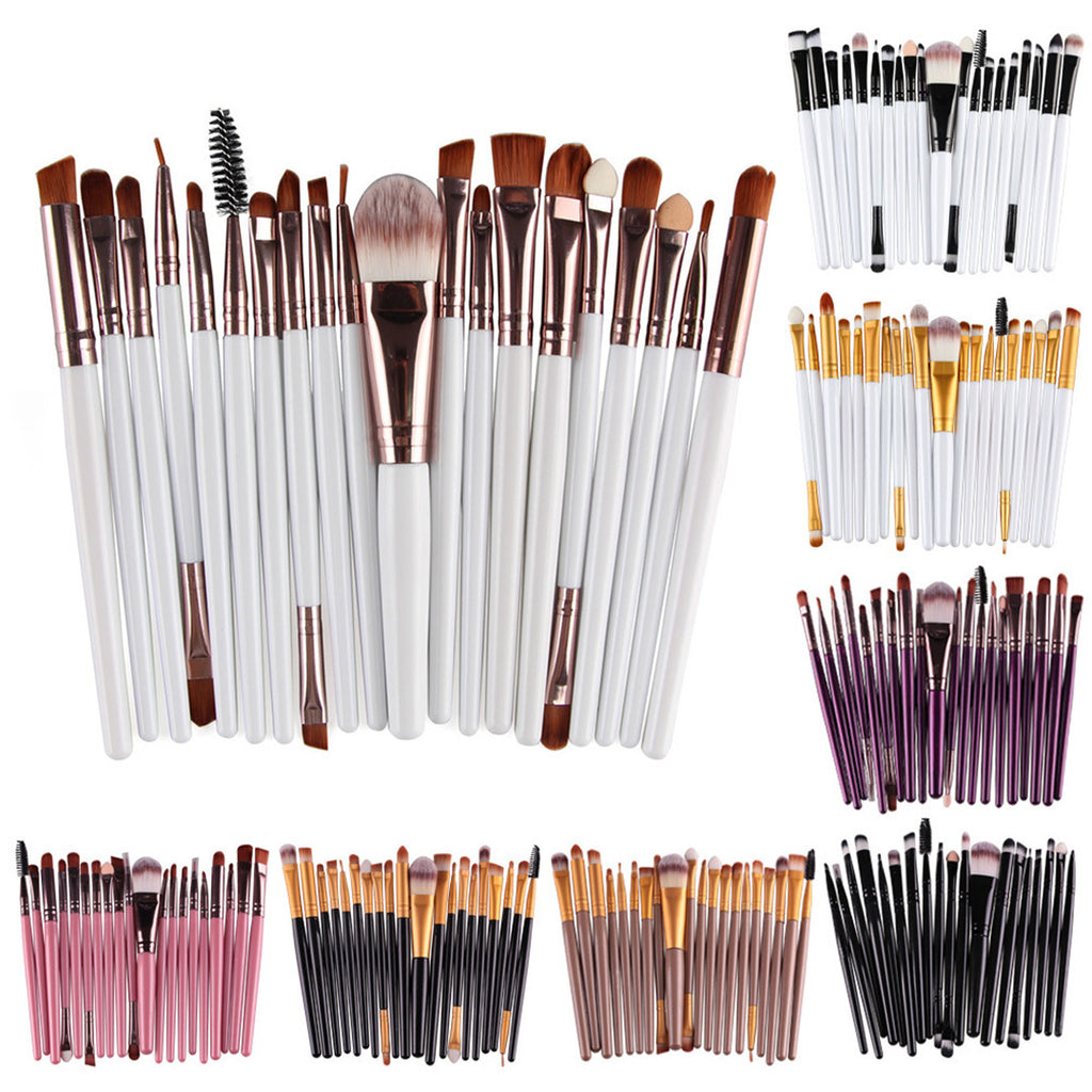 20 pcs Makeup Brush Kit A - Livelit