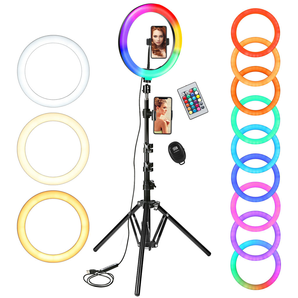 10in RGB LED Ring Light - Livelit