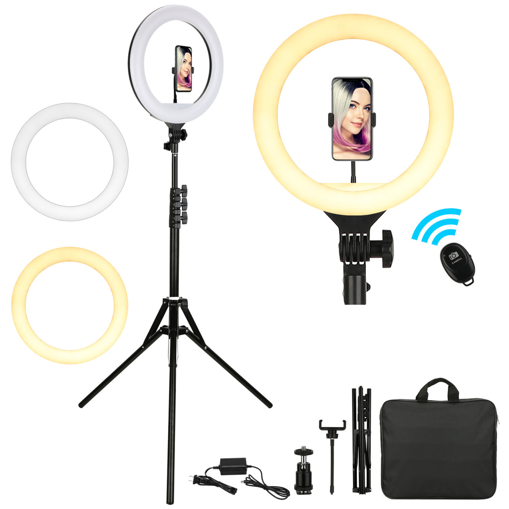 Professional 14in LED Ring Light Kit - Livelit