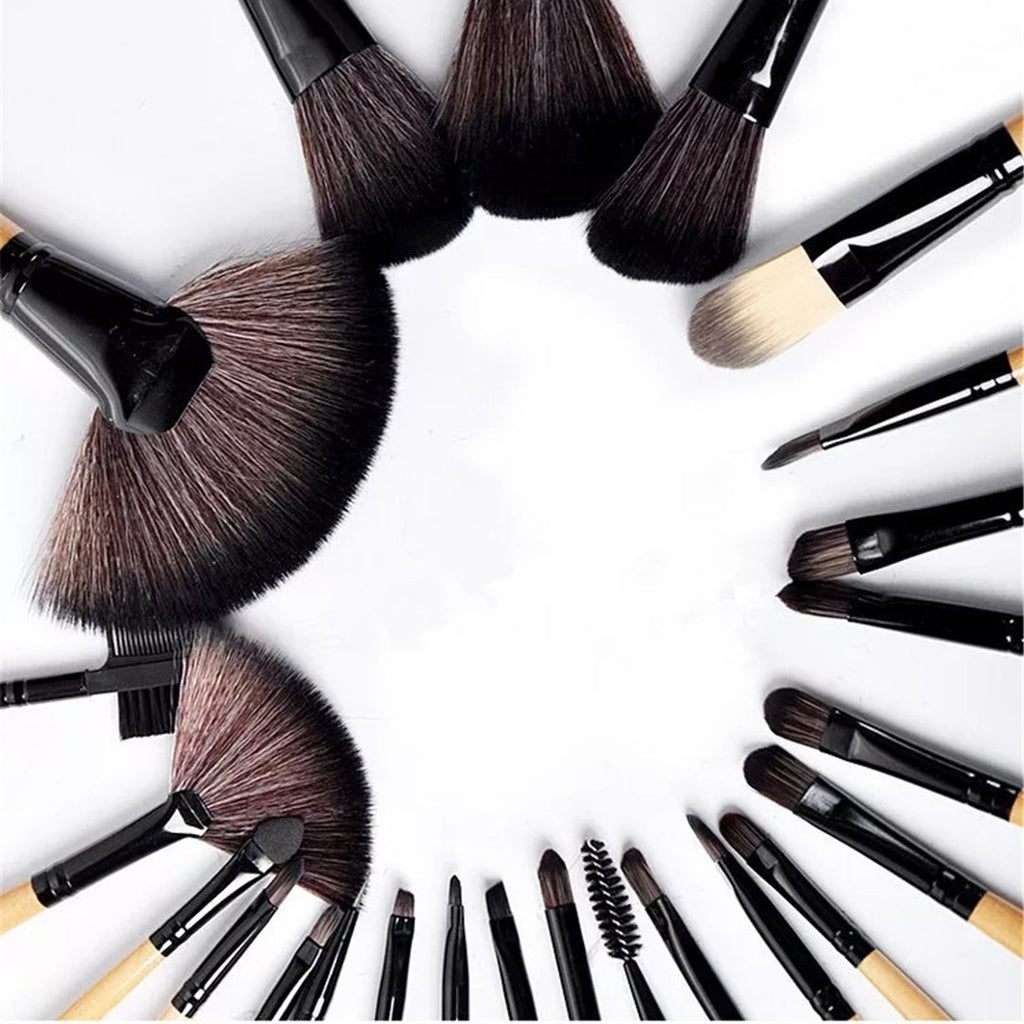 24 pcs Makeup Brush Kit - Livelit
