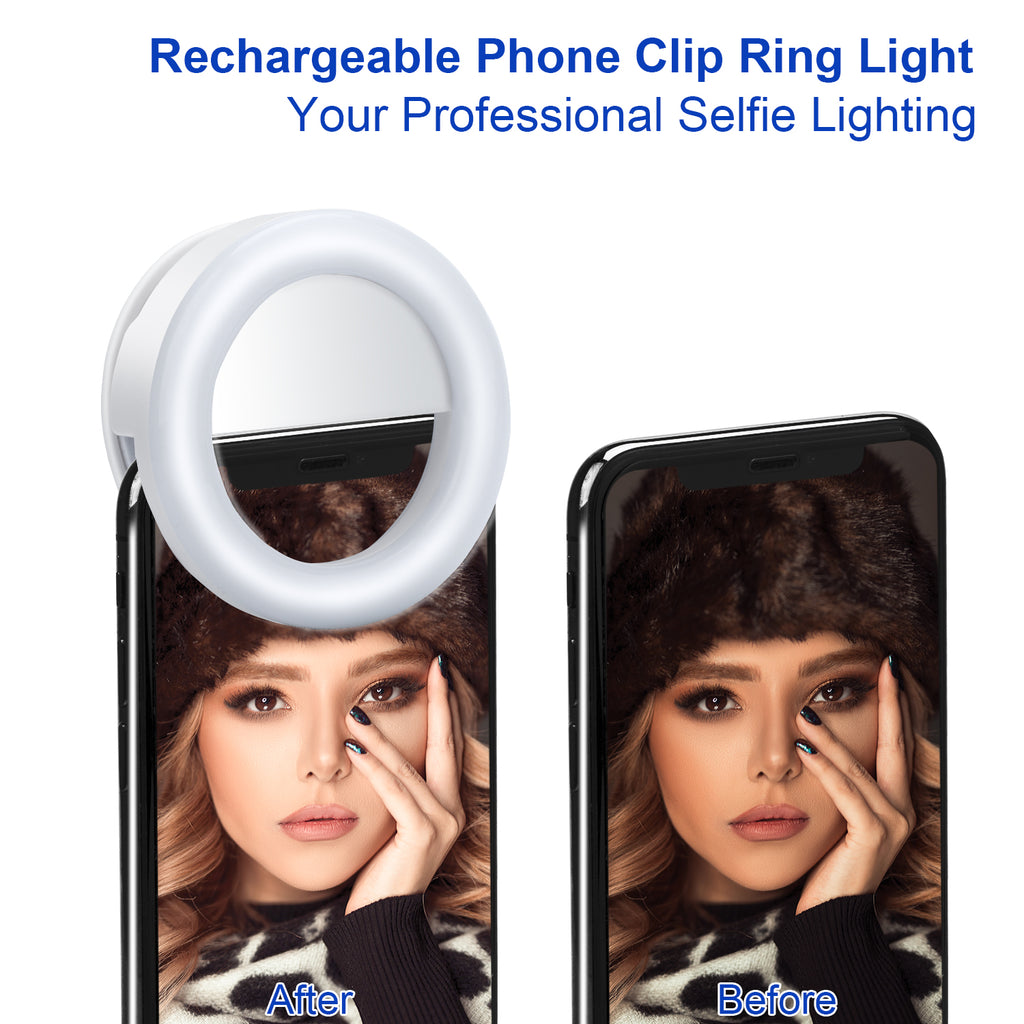 Smart Phone Selfie Light - Livelit Ring Light
