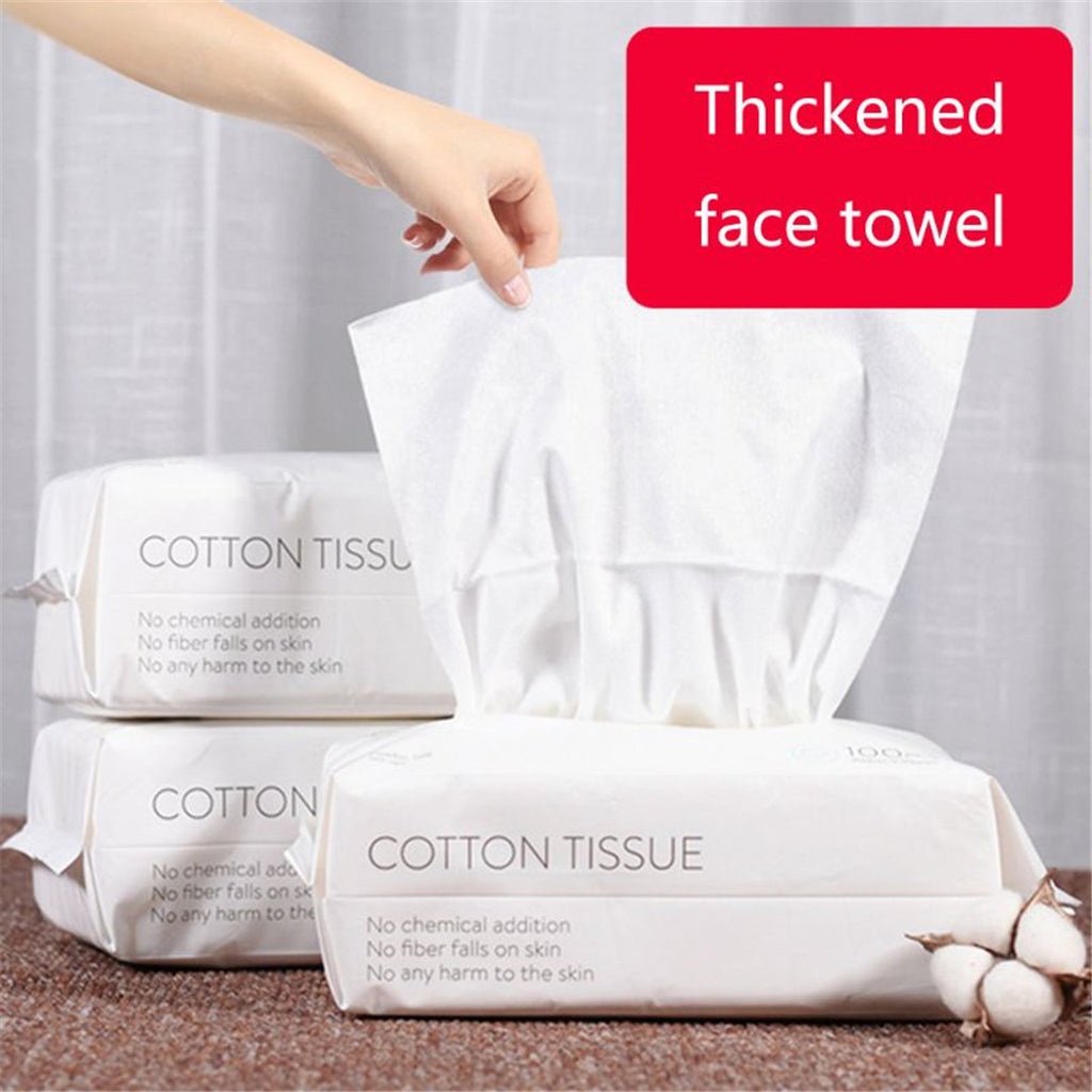 Disposable Makeup Cotton Facial Cleansing Tissue - Livelit