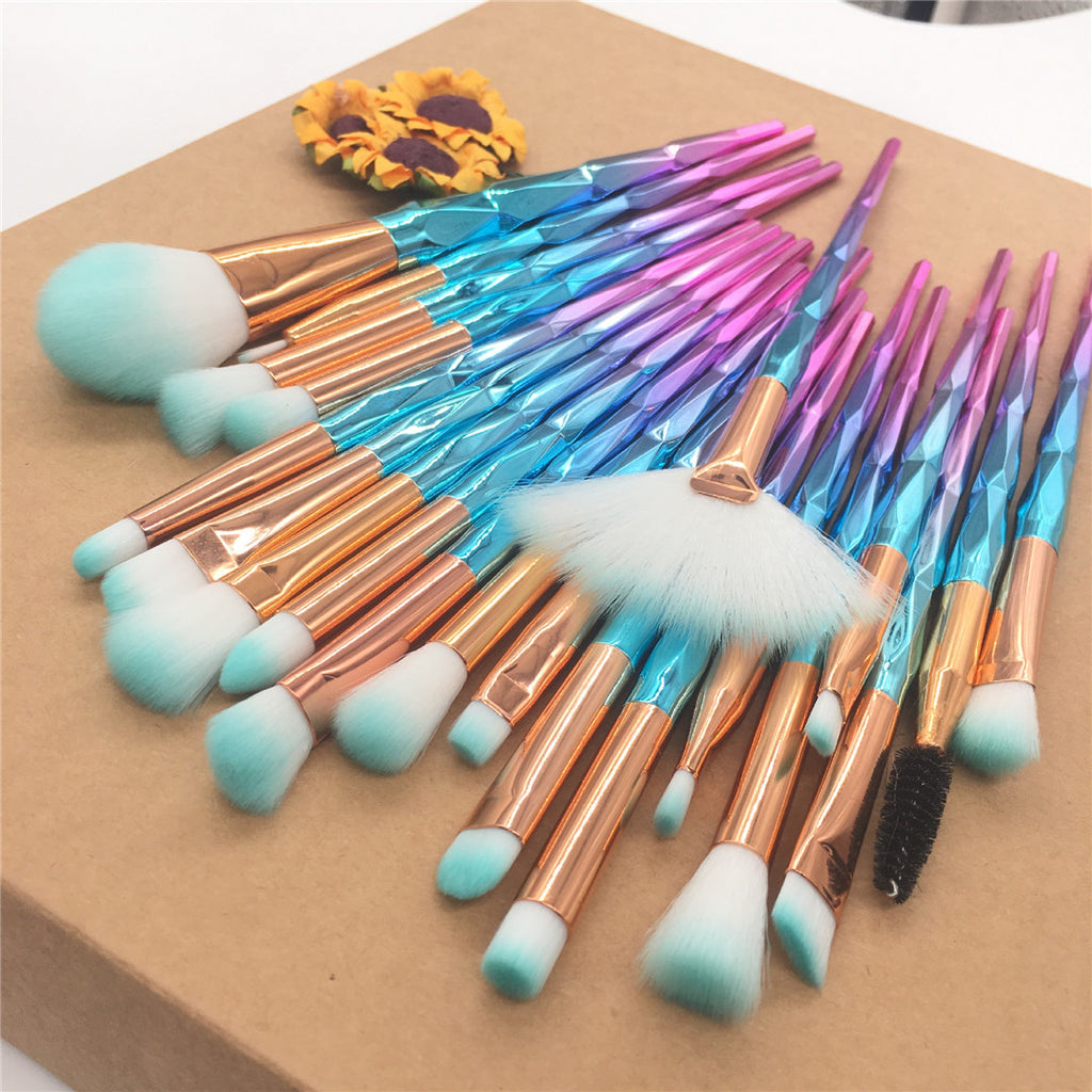20 pcs Makeup Brush kit B - Livelit