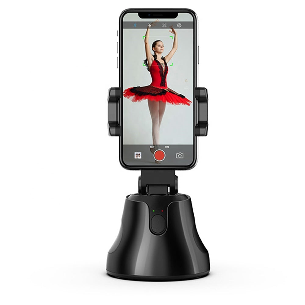 360 Degree Tracking Vlog Phone Holder - Livelit