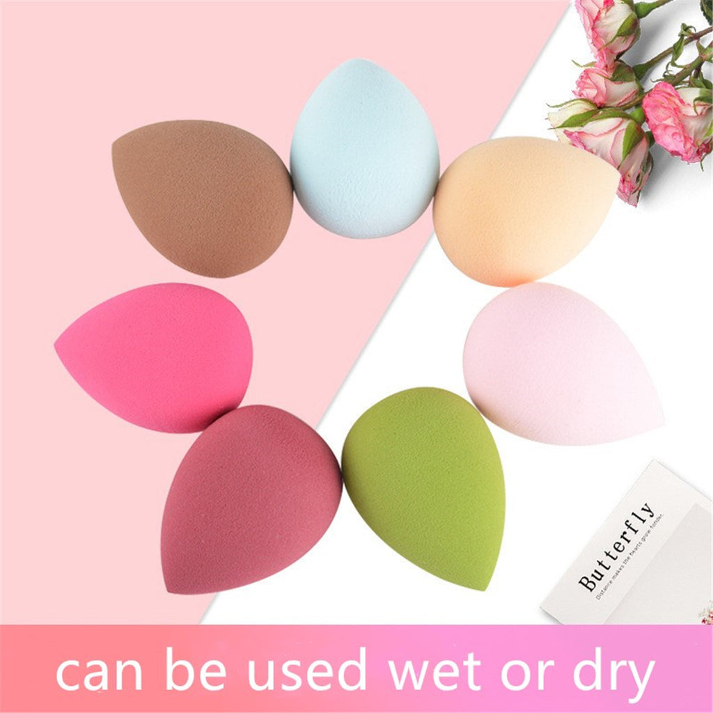 4 pcs(Random Color) Makeup Waterdrop Beauty Sponges - Livelit