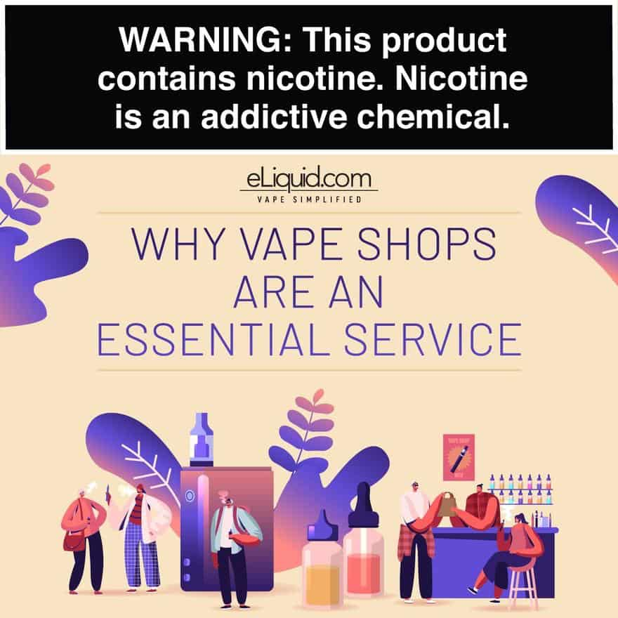 Why Your Vape Shops Are Essential Services
